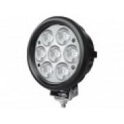 Светодиодная фара рабочего света 70 Вт круглая LED Cree