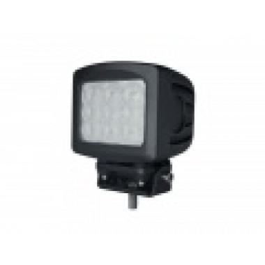 Светодиодная фара рабочего света 90 ватт квадратная LED Cree