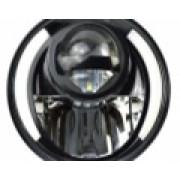Светодиодная фара 7 дюймов 30 Ватт с ДХО и поворотниками