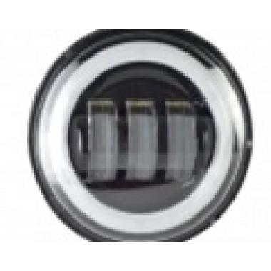 Светодиодные противотуманные фары.Комплект птф светодиодные фары 4,5 по 30 Вт с кольцом Halo
