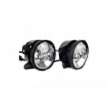 Светодиодные противотуманные фары.Комплект птф светодиодные хромированные фары 4 по 18 Вт