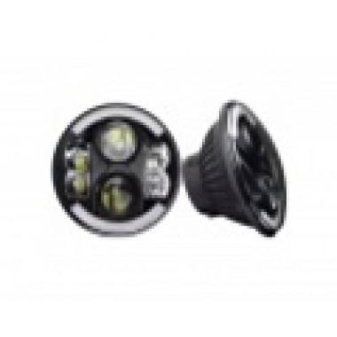 Светодиодные фары головного света 80 Ватт с ДХО и поворотников