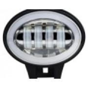 Светодиодные LED доп.фары 80 ватт с ходовыми огнями комплект