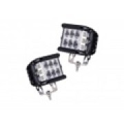 Светодиодные LED Доп.Фары 90 ватт комплект LED Cree
