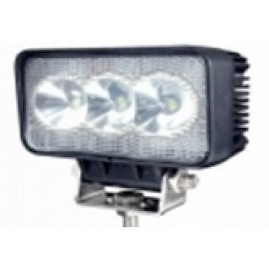 Светодиодная фара рабочего света 18 Вт с функцией поворотников врезная