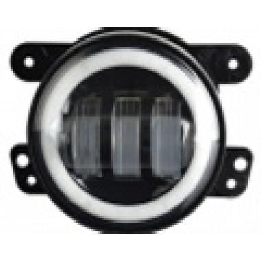 Светодиодные противотуманные фары.Комплект птф светодиодные фары 4 по 30 Вт с кольцом HELLO