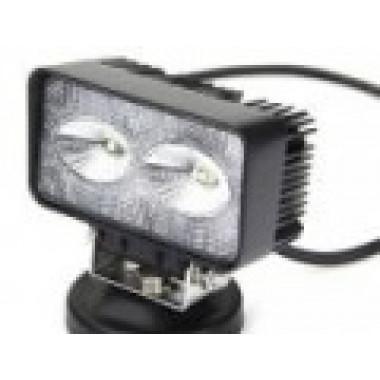 LED фара рабочего света 20 Вт с широким лучом на 2-х диодах  LED Cree
