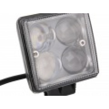 LED фара рабочего света (Epistar) 4D 12 Ватт (2шт.) LED Epistar
