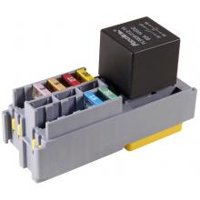 Модуль предохранителя MINIVAL и реле MAXI (10+1) в индивидуальной упаковке