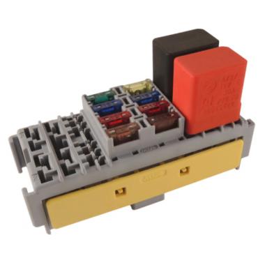 Модуль предохранителей MINIVAL и реле MICRO 8+4 (в индивидуальной упаковке)