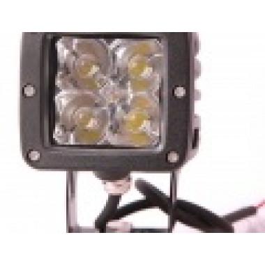 LED фара рабочего света 12 Вт с узким лучом и с фильтрами